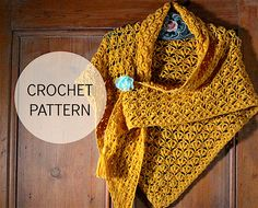 Olivias shawl - crochet shawl pattern in UK and US terms. Instant download PDF pattern. Inspired by chilly autumn evenings inside and cold and crisp walks outdoors,
