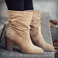 tan booties from target