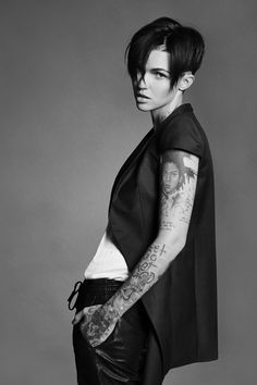 17 Best images about Ruby Rose on Pinterest | Confusion, Short films and  Days in