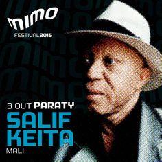 """Conhecido como """"A voz de ouro da África"""", Salif Keita Official Fan Page é o primeiro nome confirmado no line up MIMO de Paraty! O artista do Mali se apresenta no dia 3 de outubro na cidade histórica.  #MIMO #MIMO2015 #MovimentoMIMO #FestivalDeMúsica #FestivalDeCinema #MúsicaInstrumental #Música #cultura #turismo #arte #VisiteParaty #TurismoParaty #Paraty #PousadaDoCareca #SalifKeita"""
