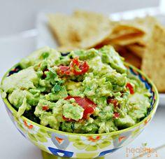 Homemade Guacamole (Vegan) | Gluten Free and Vegan Recipes by Michelle Blackwood