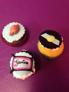 Princess Jasmine Theme Cupcakes