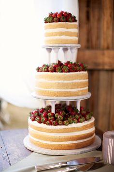 wedding cake. simple
