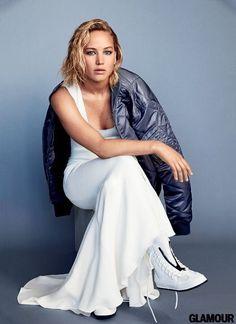 Jennifer Lawrence for Glamour Magazine