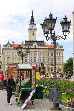 Novi Sad City Hall, Serbia