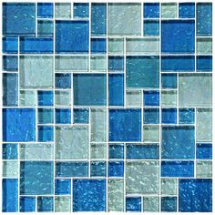 Pool Tile World is the best Glass Pool Tile and Mosaic Pool Tile Company in Florida. We have hundreds of colors and styles of pool tile for waterline or the entire pool. Let us help you create your own custom blend. Glass Pool Tile, Blue Glass Tile, Mosaic Glass, Stained Glass, Apartment Therapy, Swimming Pool Tiles, Rectangular Pool, Diy Pool, Tiles Texture