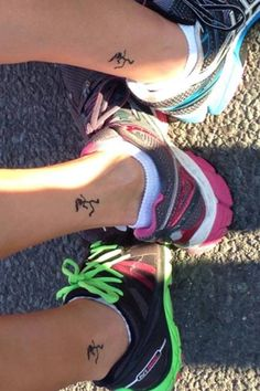 Running tattoo