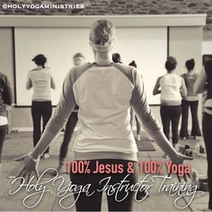 """""""Here I am, Lord. Is it I Lord?I have heard you calling in the night.I will go, Lord, if you lead me.I will hold your people in my heart."""" [Dan Schutte - The United Methodist Hymnal, No. 593]Today is the last day to register for our Holy Yoga Instructor Training that starts Sept. 2nd. Will you answer His call today, dear friend? Go to holyyoga.net/become-an-instructor to register. #holyyoga #holyyogaministries #holyyogainstructortraining #yogateachertraining #christianyoga"""