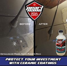 Perfection WaterSpot Killer (Lite Acid Gel) for windows and paint.  Gel Based Acid WaterSpot Remover, clings to surfaces for easy application to surfaces. Can be Sprayed or Hand Applied..  Callingalldetailers.com