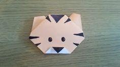 origami zebre easy - YouTube