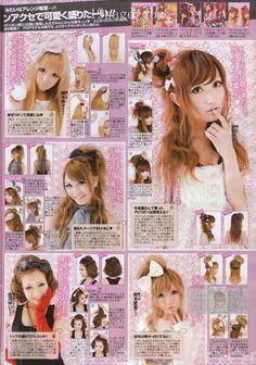 Saica: Gyaru Hair-Styles <3