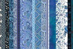 fabrics pinned to 'Blue' @pinterest board via Twitter Liberty London @LibertyLondon
