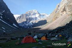 Camping La Lata - Parque Cordillera Yerba Loca, Chile - www.caminonomada.com
