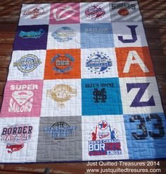 T-Shirt Quilt - Just Quilted Treasures