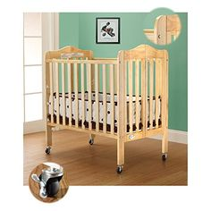 The beautiful #Tina 3 Level Portable Crib. It's a JPMA approved Tina Portable 3 in 1 folding Portable Crib. Folds flat for easy storage. This comes with a single...