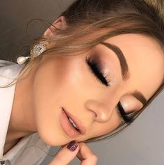 Most Popular Ideas For Bridesmaid Makeup Smokey Wedding Make Up Eye Makeup, New Year's Makeup, Glam Makeup, Makeup Inspo, Makeup Ideas, Makeup Tips, Makeup Man, Makeup Tutorials, Professionelles Make Up