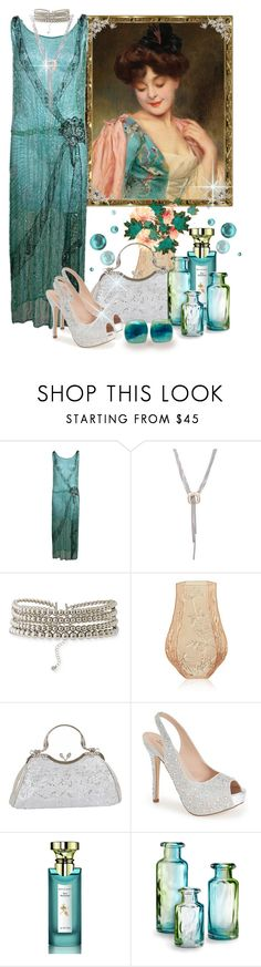 """""""Vintage Style~contest"""" by loves-elephants ❤ liked on Polyvore featuring David Yurman, Lydell NYC, Lalique, J. Furmani, Lauren Lorraine, Bulgari, Cyan Design and vintage"""