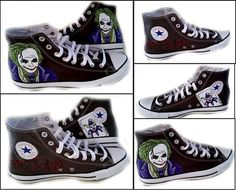Scarpe Converse All Star Chucks UK 9 UE 425 BATMAN MARVEL DC COMIC 120821