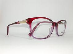 Óculos Grande Armação Acetato Feminino Tamanho 58 Uva/lilas