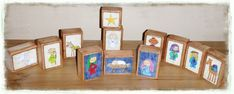 Nativity Blocks - *free* download - This site has so many great downloads (mostly religious- Mormon, Christian)