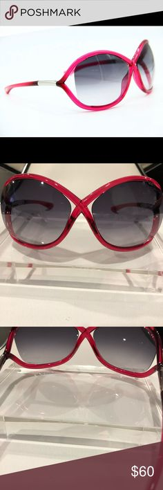dd3bbb6ae7132 Tom Ford TF 9 72b Whitney Sunglasses Authentic