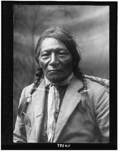 Chief White Crow, Northern Ute, by ???, no date.