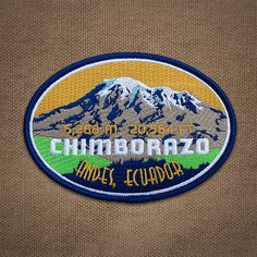 Chimborazo Patch by Expedition Collectibles