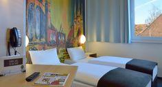 Zweibettzimmer im B&B Hotel Erfurt