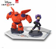 """Big Hero 6″ characters fly into Disney Infinity 2.0 with Hiro and Baymax figures"