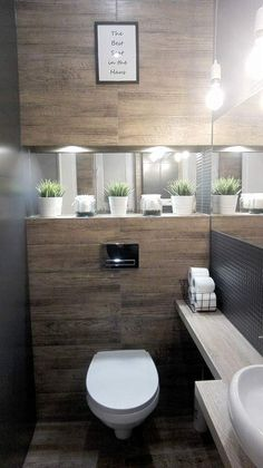 Inspiracao Lavabo inspiracao lavabo Genel is part of Modern toilet - House Bathroom, Bathroom Inspiration, Small Bathroom, Bathrooms Remodel, Bathroom Interior Design, Bathroom Remodel Designs, Small Toilet Room, Small Bathroom Decor, Bathroom Layout