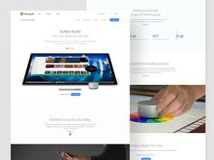 Hello   Long time no shot . Got couple of days free time then I am think make a new product landing page concept, I am not big fan of current Microsoft Surface Studio landing page Design.  Finally ...