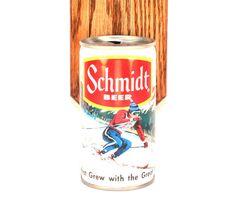 Schmidt beer can bottle opener