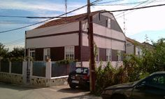 Vivienda rehabilitada en Vigo con sistema SATE Baumit Prosystem con placas de 4cm. Así estaba la vivienda antes de nuestros trabajos.