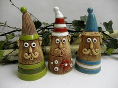 Skřítek nebo trpaslík ??? Ceramics Projects, Clay Projects, Christmas Time, Christmas Crafts, Christmas Ornaments, Polymer Clay Crafts, Winter Time, Clay Art, Holiday Decor