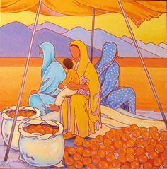 Gilles Mével - Artiste Peintre - Afrique