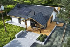 Outdoor Furniture Sets, Outdoor Decor, Design Case, Future House, Modern Farmhouse, Tiny House, House Plans, Villa, Construction
