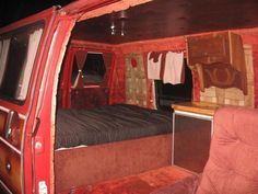 Custom Van Interiors | and this is were i m installing my speakers the