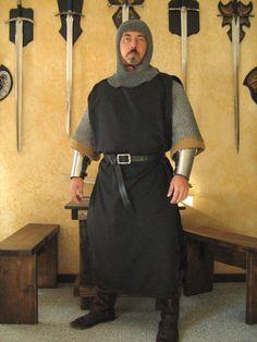 Knights Templar Tunic Tabard Costume Reenactment Medieval Crusader Armour Larp