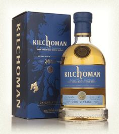 Kilchoman 6 Year Old 2007 - one of the finest Islay whiskeys I've ever tasted. Complex, fruity, heavy with smoke... Just amazing.