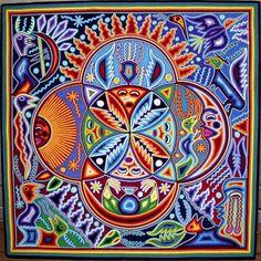 Психоделичное искусство индейцев уичоли - Amazonka