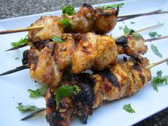 Mango Jerk Chicken Skewers Appetizer ~ Recipe