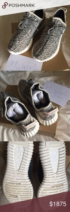 Adidas Yeezy Boost 350 turtle dove AQ4832 In great 9/10 condition. 100% authentic with receipt from adidas. Comes with original box, tissue paper, etc. I also have these listed on eBay: https://www.ebay.com/itm/172530364997 **or message me to work out a better deal Adidas Shoes