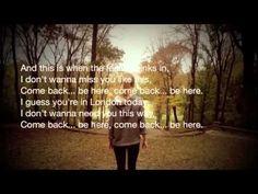 Taylor Swift - Come Back...Be Here (Lyrics)