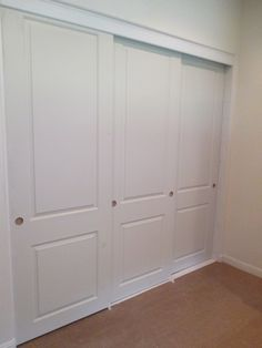 Are You Looking For A 3 Panel / 3 Track Hollow Core Or Solid Core Top Hung  Molded Panel Closet Door! Closet Doors Are By Jeldwen And Can We Custom  Built To ...