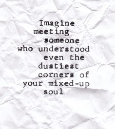 mixed up soul :)