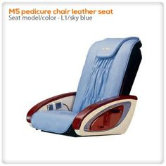 I could not believe there would be such a #great #blue color for a #pedicure #chair #seat....  But yeah, here we go.This is so pretty and lovely..