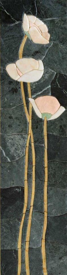 Mosaic Wall Art - Soft Bloom