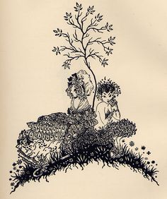Illustration by J. Paget-Fredericks from Millay's 1929 book of poems for children.