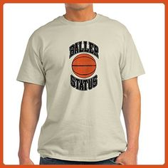 CafePress - Basketball Baller Status - 100% Cotton T-Shirt - Sports shirts (*Partner-Link)