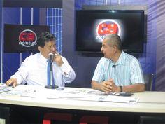 Con Alex Pillaca en Canal 15